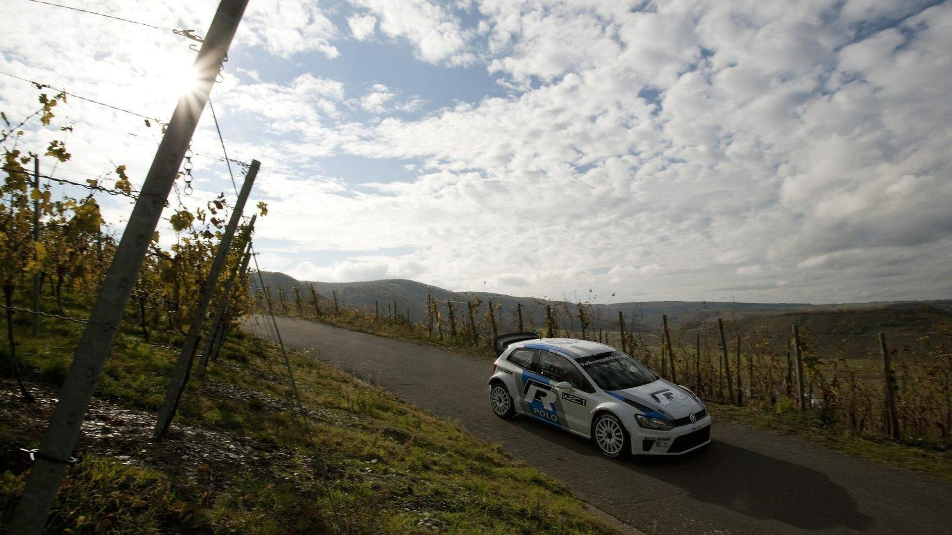 Volkswagen Polo R WRC testing begins [video]