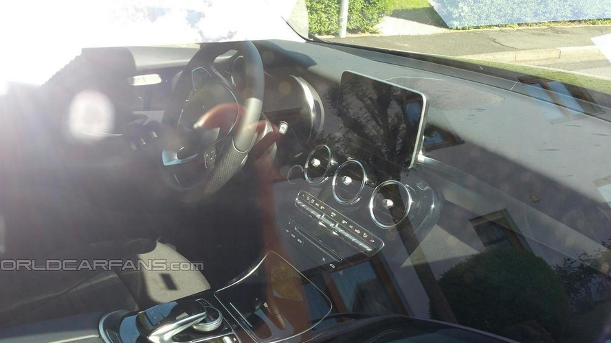 Mercedes-Benz GLC spied inside and out by WCF reader