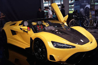 Tushek T600 is a 620-hp Slovenian Supercar