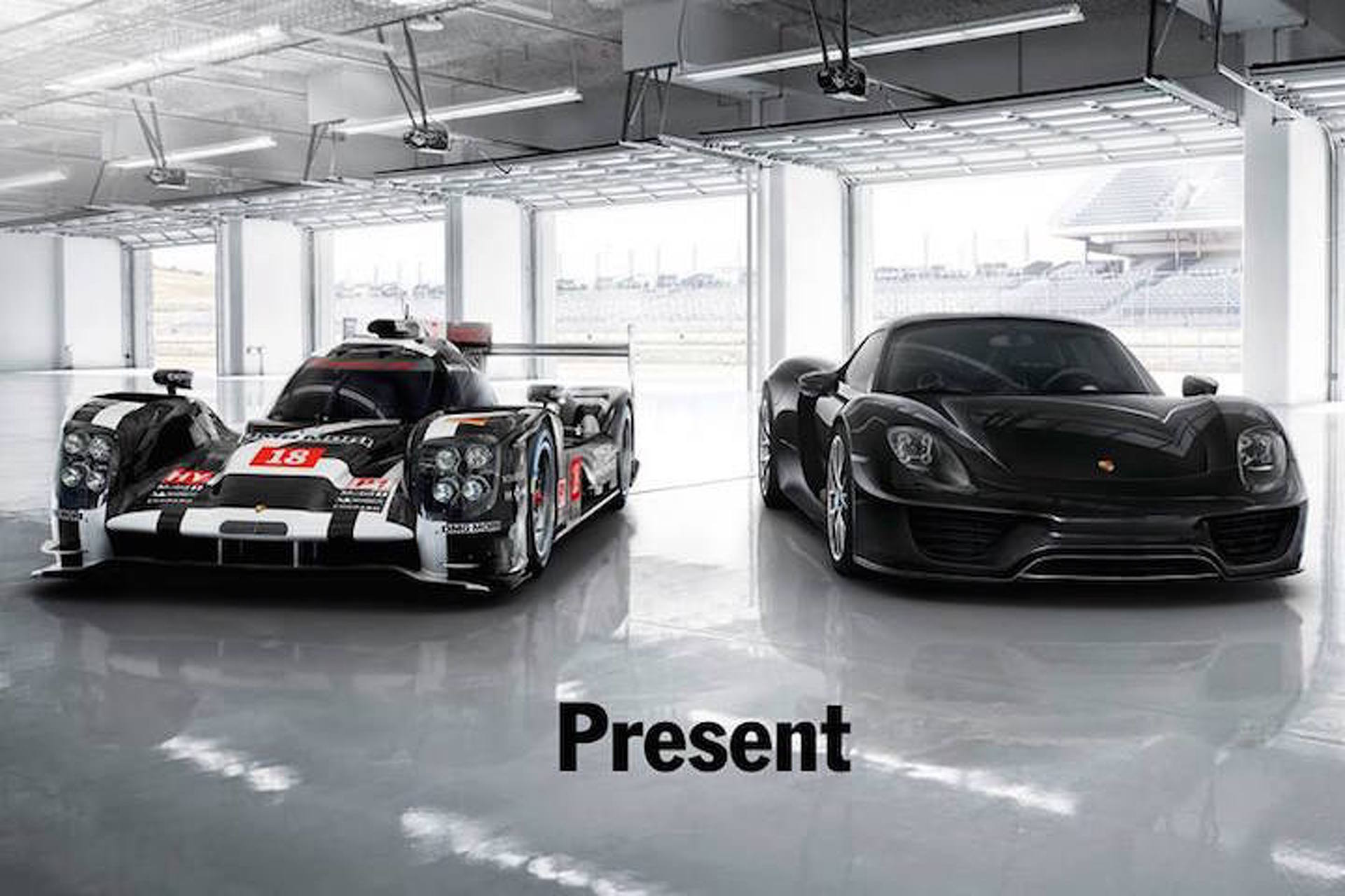Porsche Celebrates Historic Le Mans Win by Teasing a New Sports Car