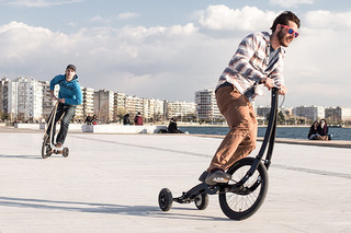 The Halfbike II Adds Fun to the Urban Commute