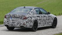 Next-generation BMW 5 Series spy photo