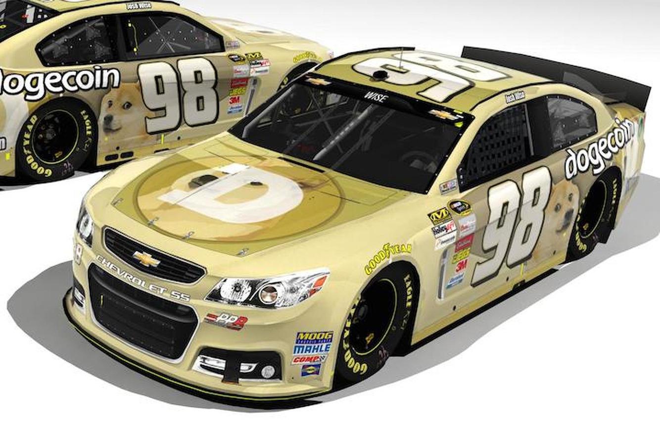 Reddit Raises $55K for Dogecoin-Sponsored NASCAR at Talladega [UPDATE]