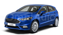 2017 Ford Fiesta envisioned with Focus cues