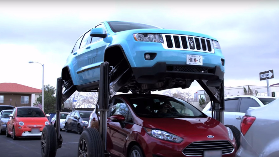 Get A Hydraulic High With This Crazy Traffic-Clearing SUV