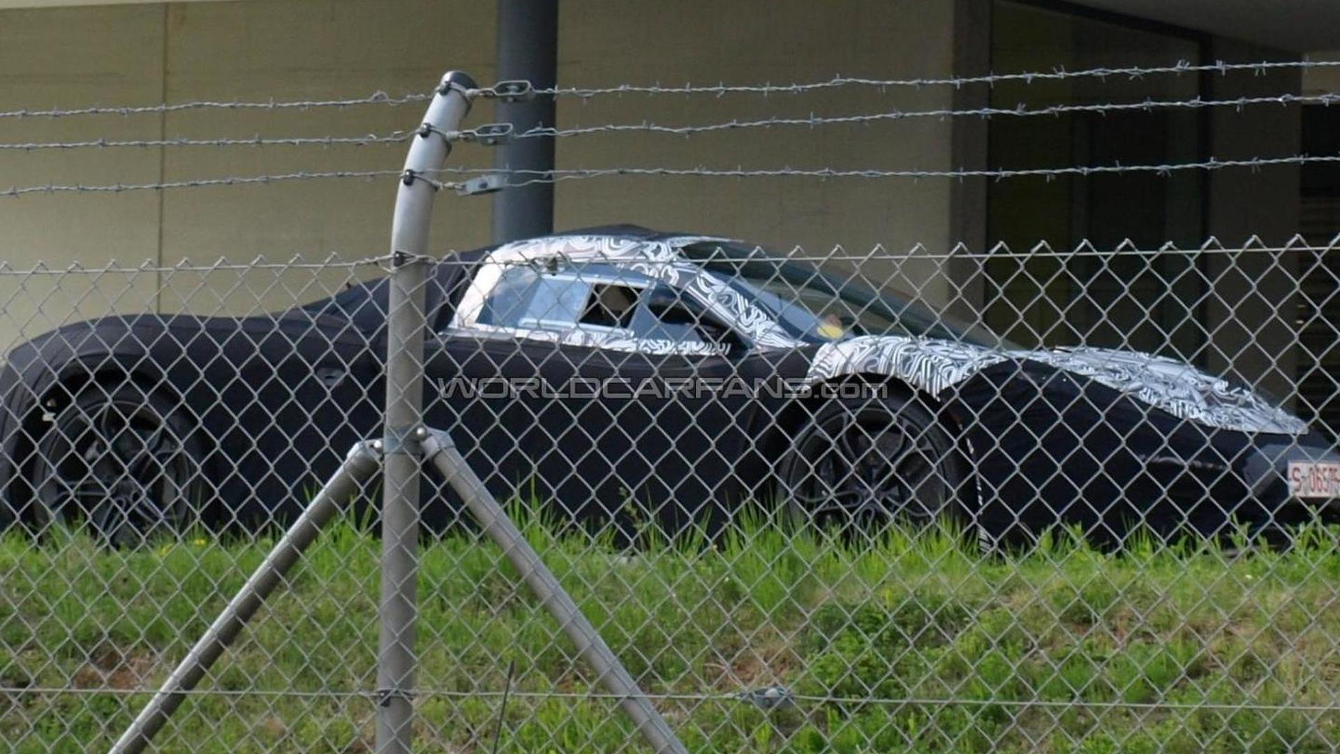 McLaren F1 successor prototype caught for first time