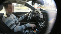 Mysterious Mercedes-Benz C-Class prototype spied with S-Class digital dashboard