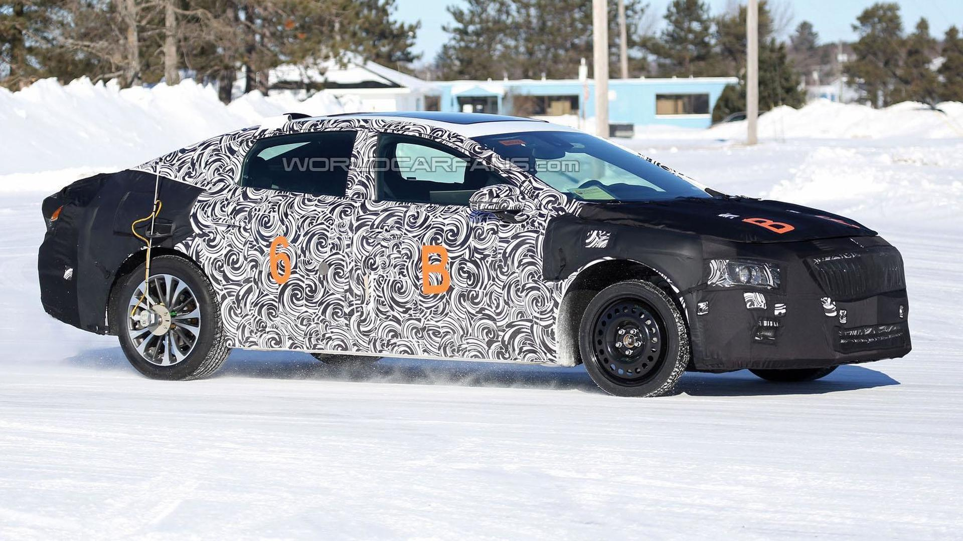 2016 Buick LaCrosse shows its sleeker shape in new spy photos