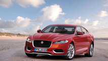 2016 Jaguar XF gets rendered