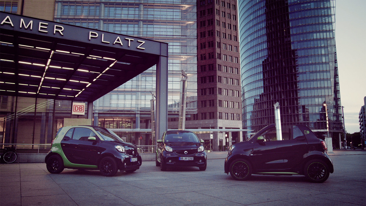 2017 Smart ForTwo Electric Drive Teaser
