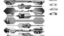 Fiat XXX render returns on video to show retro-flavored design