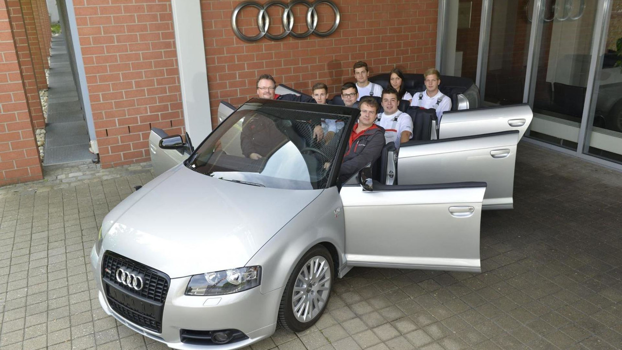 Audi A3 Cabrio with six doors