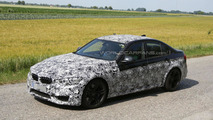 2014 BMW M3 spied with a carbon fiber roof