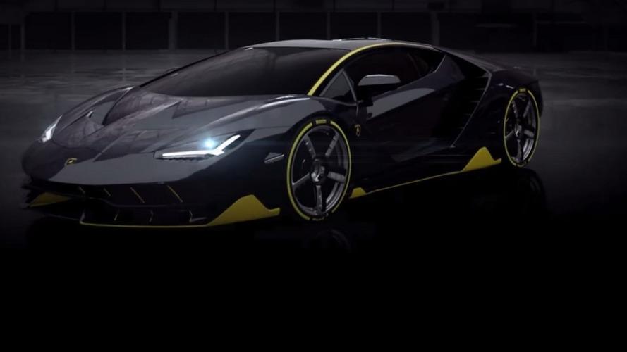 Lamborghini Centenario partially revealed [UPDATE]