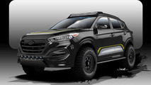 Hyundai teases a rugged Tucson for SEMA