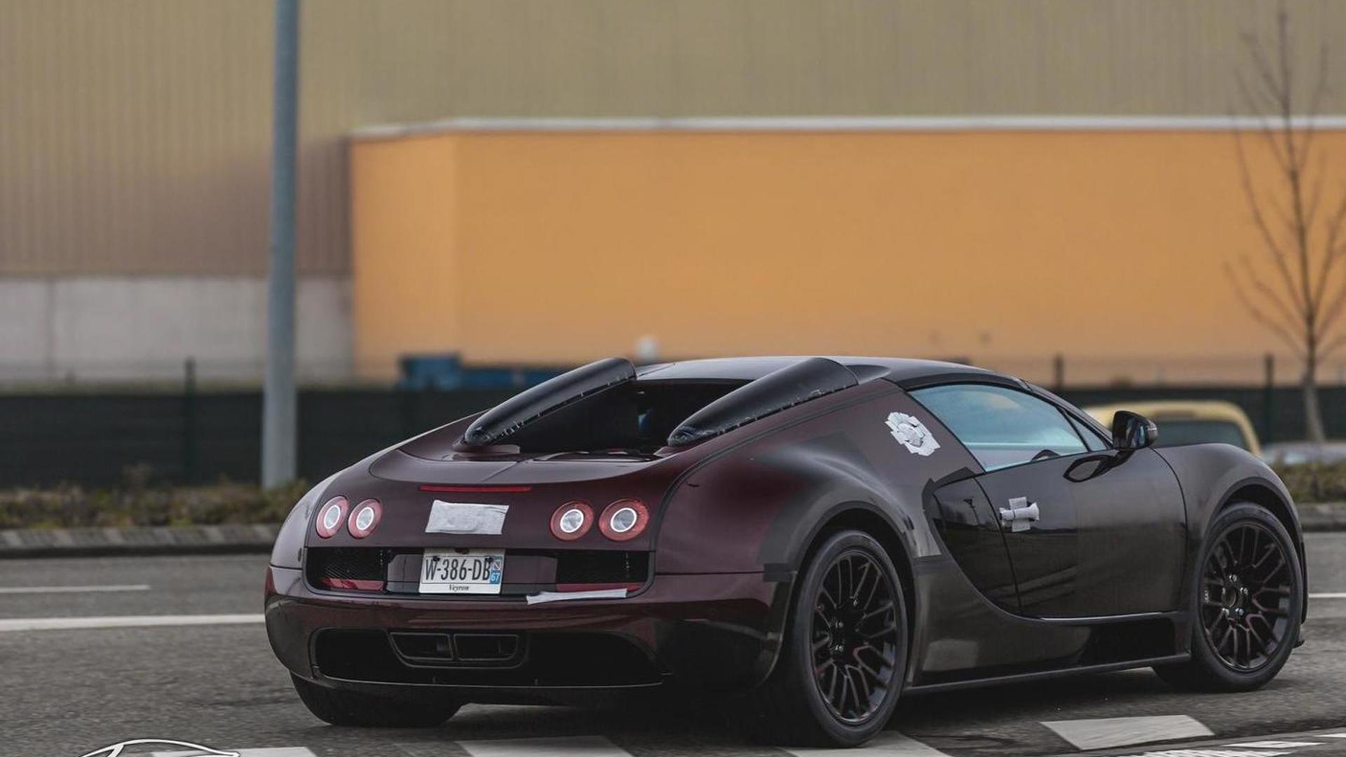 Possible Bugatti Veyron Grand Sport Vitesse La Finale spotted