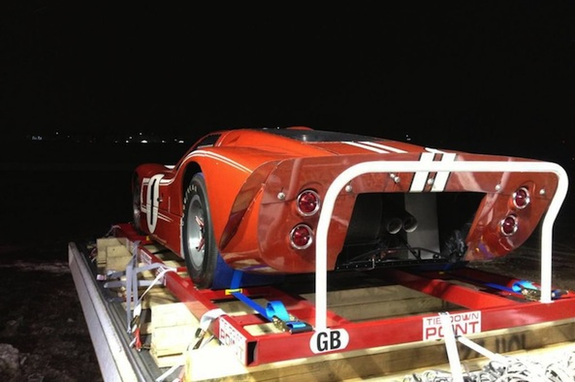 Le Mans-Winning 1967 Ford GT40 at Chicago O'Hare