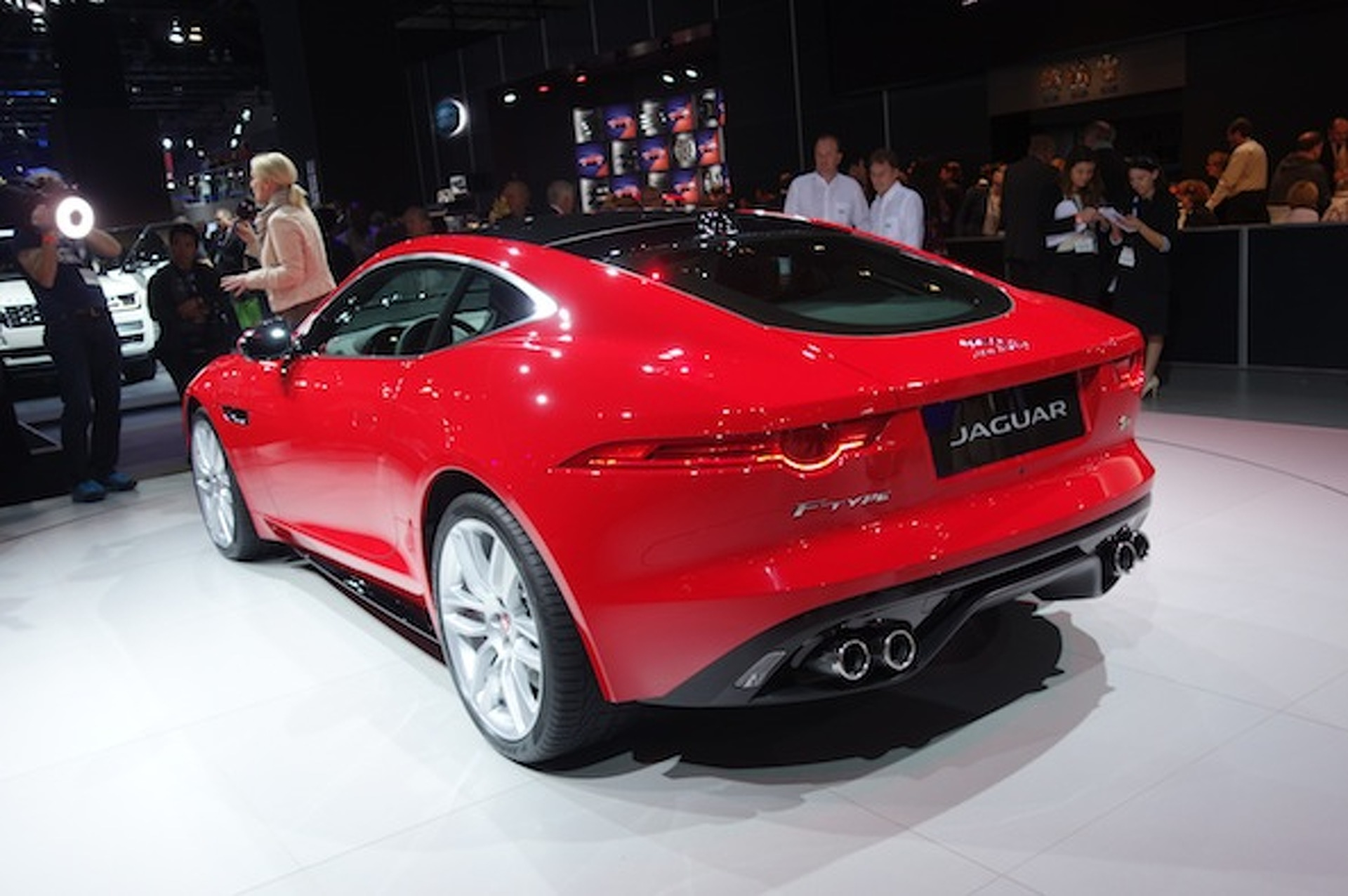 Jaguar F-Type Coupe is one Pretty Kitty