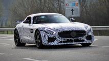 High-performance Mercedes-AMG GT spied again