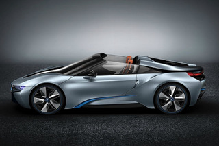 New BMW i8 Spyder Concept Coming to CES