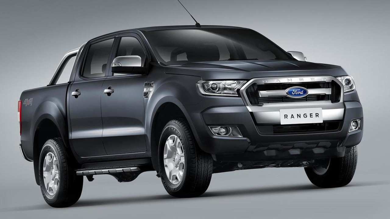 2015 Ford Ranger facelift