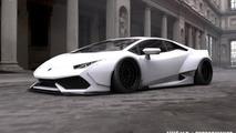 Liberty Walk previews Lamborghini Huracan tuning project