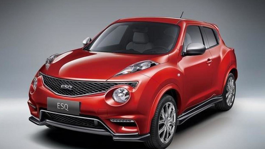 China-bound Infiniti ESQ first official images released
