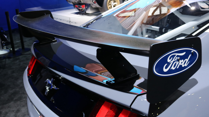Ford Mustang GT4 race car