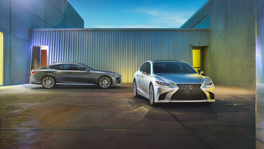 2018 Lexus LS versus the Germans