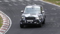 Range Rover long wheelbase variant spied again