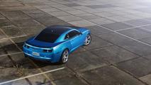 SchwabenFolia supercharges the Chevrolet Camaro SS