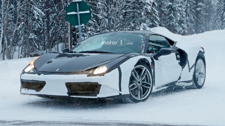 Is This A Hybrid Ferrari 488 Prototype?
