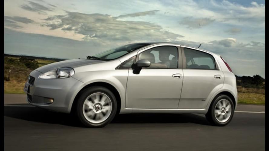 Fiat Punto 2011: Tabela de consumo dos novos motores E.torQ e tabela de preços