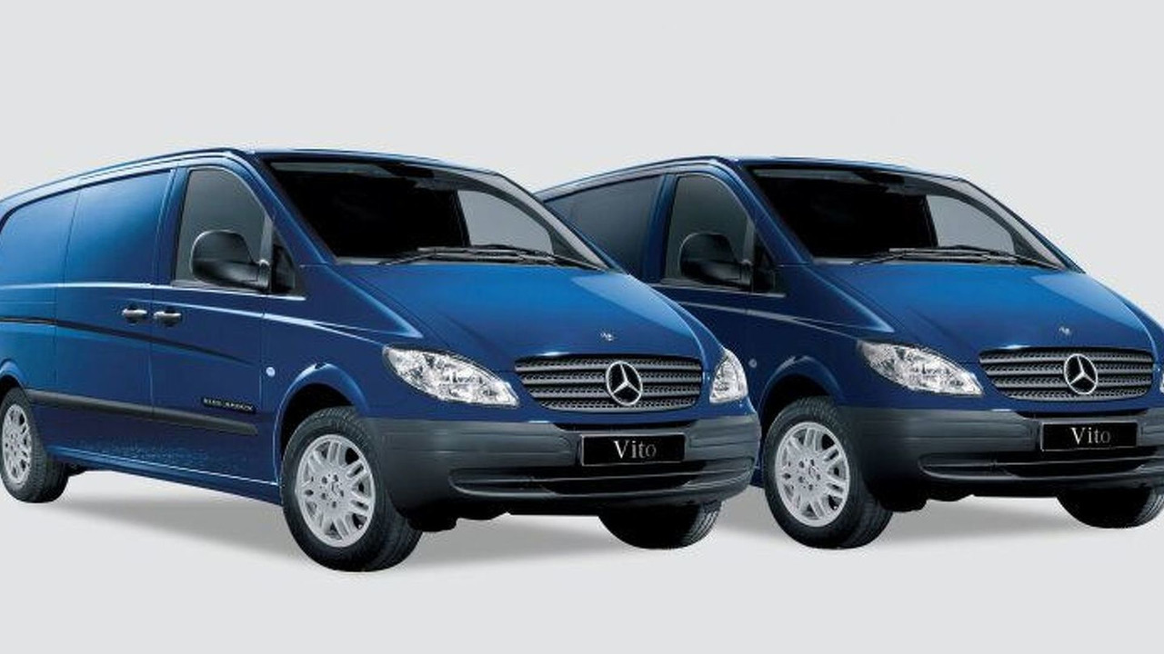 Mercedes-Benz Blue Arrow Vito Limited Edition