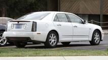 Cadillac STS Facelift Spy Photo