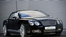 Arden Presents Bentley Continental GTC... hood ornament