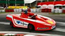 Massa speeds up kart race return to November