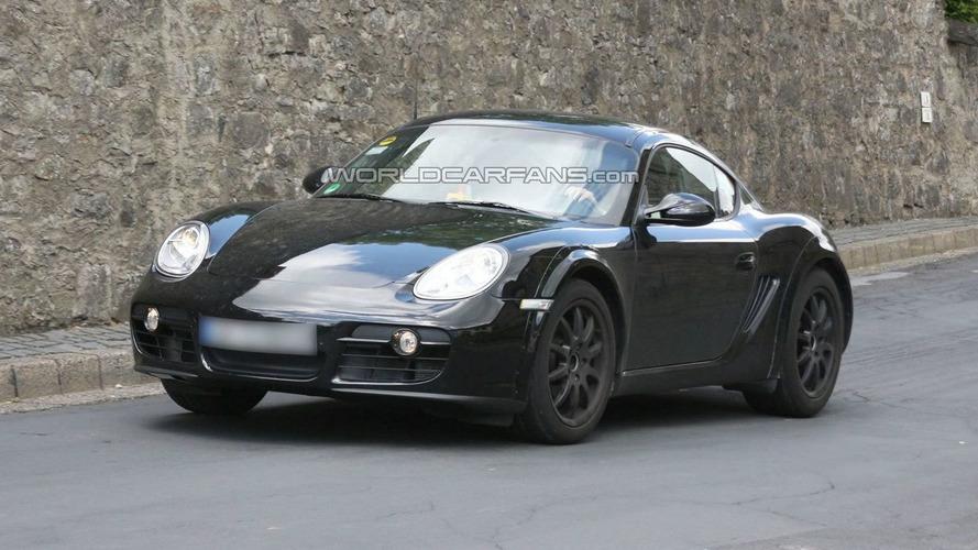 Porsche Cayman Mule Spied Again