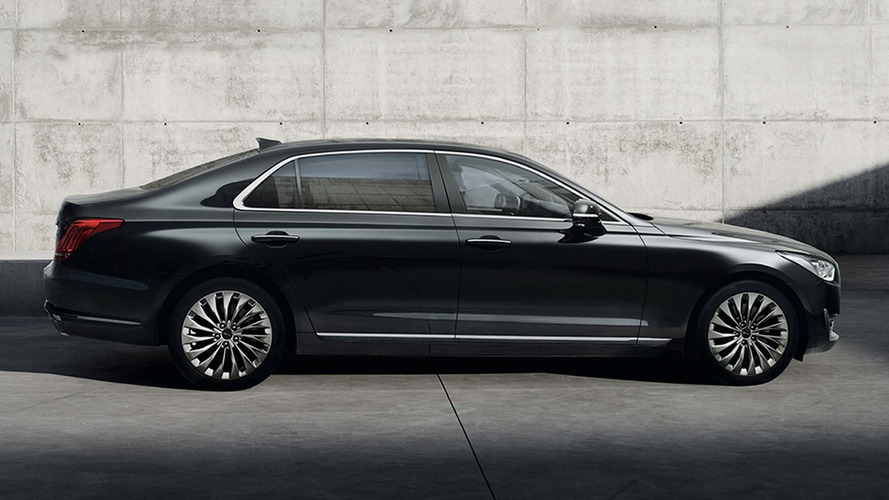 Genesis G90 first videos show Hyundai's new premium contender