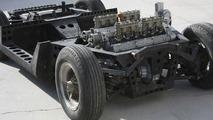 Original Lamborghini Miura Turin Salon Chassis found