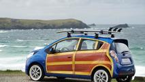 Chevrolet Spark Woody Wagon art car 05.08.2010
