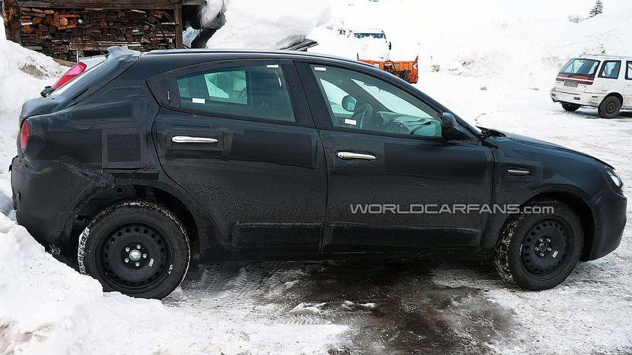 Alfa Romeo Milano Spy Photos