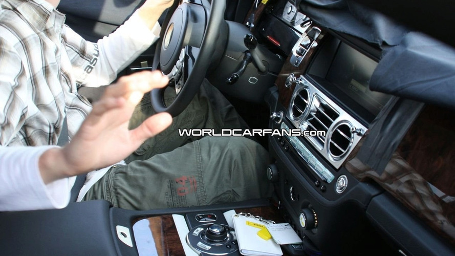 Rolls-Royce RR4 Interior Spied Up Close