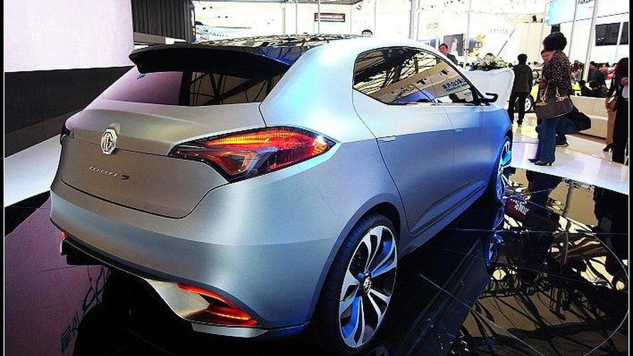 MG Concept 5 debuts in Shanghai