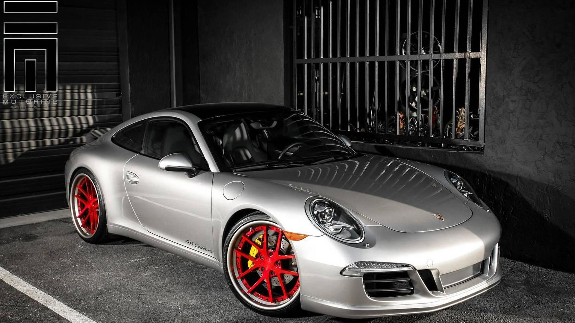 Porsche 911 Carrera gets minor makeover from Exclusive Motoring