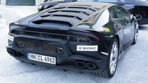 Lamborghini Huracan SV / Superleggera spy photo