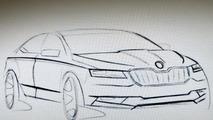 All-new Skoda Superb coming to 2015 Geneva Motor Show riding on Passat B8 platform