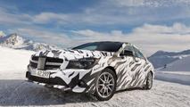 Mercedes CLA / CLA45 AMG official spy photos 04.12.2012