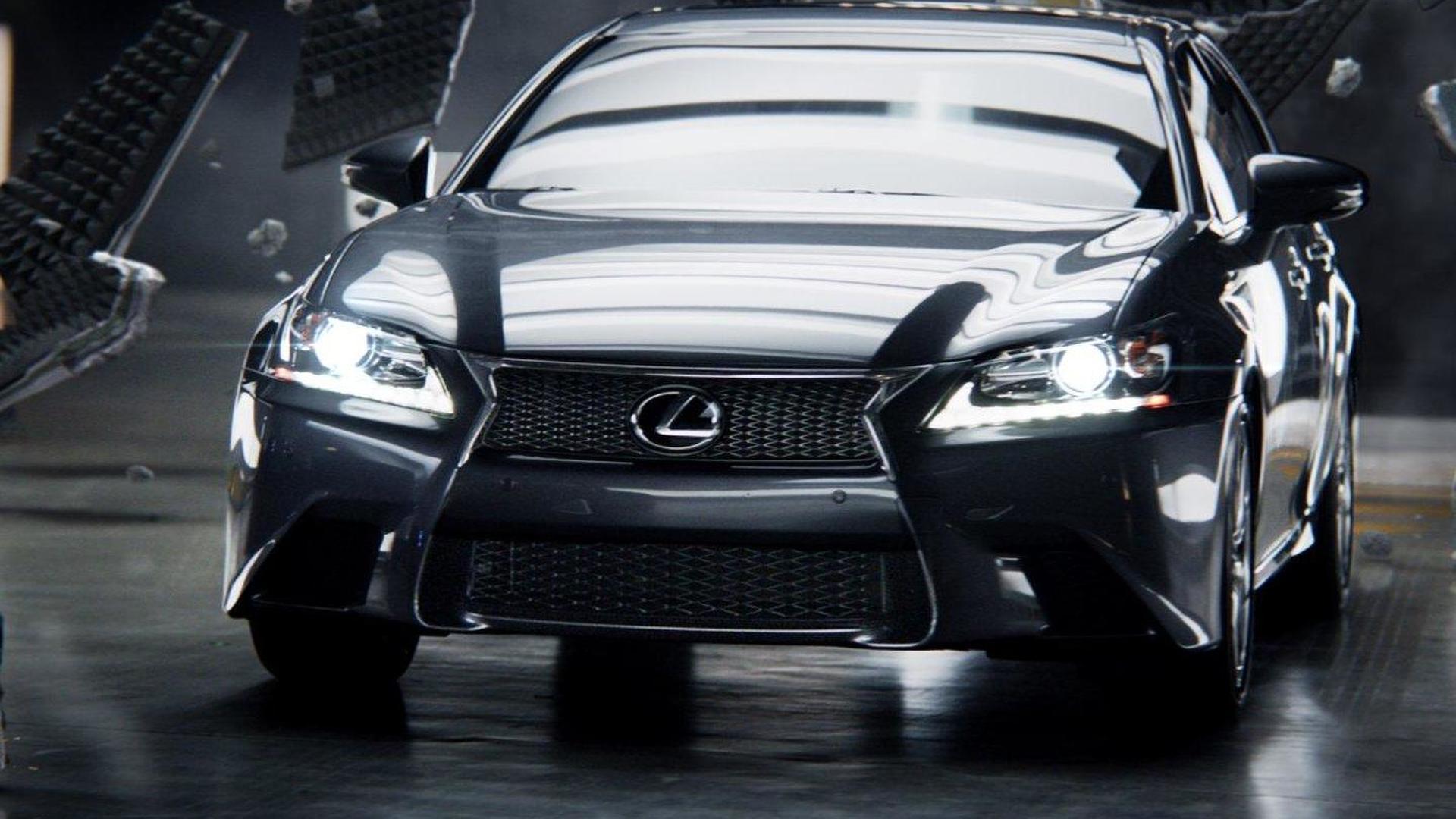 2012 Lexus GS Super Bowl XLVI commercial [video]