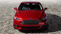 2013 Ford Fusion leaked - 08.1.2012